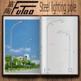 Galvanisierte helle Stahlpolen für Straße