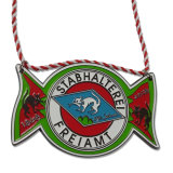 Médaille en plaqué personnalisé de l'exécution pour le souvenir de crochet de suspension