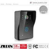 """7 """"記録機能のタッチ画面の無線ビデオ通話装置"""