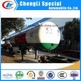 3 ejes remolque gas tanque de gas GLP remolque semi remolque cisterna de 45000 litros de combustible
