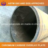 鉱山アプリケーションのためのクラッディングの耐久力のある鋼管の中