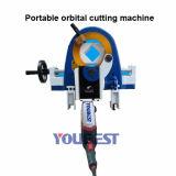 El tipo corte fino orbital del vector del tubo del acero inoxidable consideró la máquina
