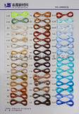 Hilados de filamentos de poliéster droga teñido FDY 20d/12f de hilados de filamento especial llamado