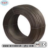Fil obligatoire recuit par noir de fil en métal de treillis métallique de décoration de construction