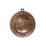 2018人の製造業者は卸し売りする金属メダル、金メダル、連続したメダルマラソンメダル(YB-m-001)が付いている習慣のスポーツメダルを