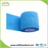 Vendaje cohesivo elástico auto-adhesivo del deporte con Ce de la ISO