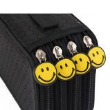 黒いホールダーの筆箱学生の文房具のペンボックスオルガナイザー袋