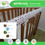 Hypoallergenic Frotteestoff Anti-Staub Scherflein-Bett-Programmfehler-befestigter Art-Baby-Krippe-MatratzeEncasement mit TPU