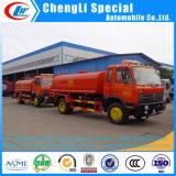 Dongfeng 4X2 6 바퀴 10ton 도로 세탁물 유조 트럭 물 전송 트럭