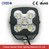 10W de altas prestaciones Offroad CREE LED LED Luz de trabajo (GT1025-50W)