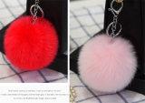 De goedkoop Bal van het Bont van Pompom Keychain Faux/Faux Bont Keychain
