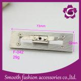 Hardware lungo degli accessori della borsa della serratura di girata del sacchetto della lega del metallo di modo