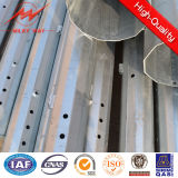 Poles гальванизированные 33kv электрические стальные