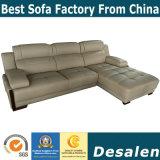 El mejor hotel de calidad en forma de L muebles sofá de cuero (A30).