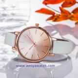 Bracelet en cuir OEM Lady Wist quartz watch Mesdames Montres (WY-17029A)