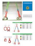 Des élingues rondes combinée avec les crochets