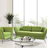 Tissu Haut de couleur verte Salon canapé pour utilisation à domicile