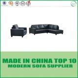 Sofás seccionales modernos de la base de sofá de la oficina del cuero genuino