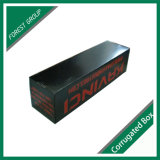 Caixa movente de papel preta personalizada