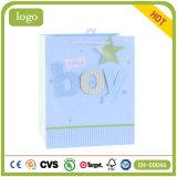 Подарка искусствоа ребёнка мешок голубого Coated бумажный