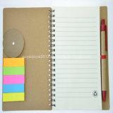 Ep colorido Cuaderno espiral de tapa dura con el lápiz para la venta