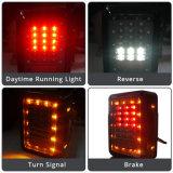 Arrêter les lumières en gros renversées de sauvegarde d'arrière de la remorque DEL de jeep de camion de Yj Tj Jk Cj de jeep de plaque d'immatriculation