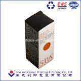 El repujado cajas de embalaje de papel para Cosmética