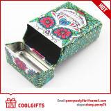 Rectángulo del cigarrillo del estaño del rectángulo de la categoría alimenticia del regalo de Promotioanl con la tapa
