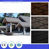 Revestido de piedra de color teja