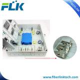 FTTX FTTH Polo de la pared de fibra óptica montados en el acceso a la caja de distribución del Gabinete de la red de aplicaciones de interior/exterior