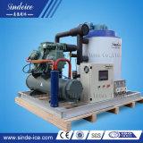 5 tonnellate per macchine di fabbricazione di ghiaccio del fiocco di giorno/creatori asciutti/pianta utilizzata industria della pesca/Malesia/Filippine con l'Auto-Design&Produce 0.3t-30t di Sindeice timpano/dell'evaporatore