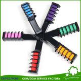 Temporärer Haar-Farben-Kamm-waschbarer Haar-Kreide-Applikatoren-Pinsel für Haar-Farbe