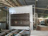 Machine chaude hydraulique automatique de presse pour faire des forces de défense principale de panneau de particules de contre-plaqué