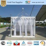 3X3m kleines transparentes Hochzeits-Pagode-Zelt mit Futter-Dekorationen