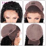 Perruque malaisienne d'avant de lacet d'enroulement de couleur normale de cheveu de Yvonne