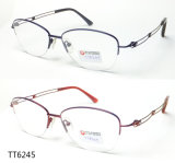Het populaire Optische Frame van het Titanium van het Metaal voor Mensen (TT 6245)