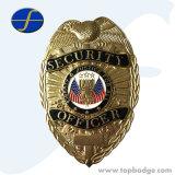 La policía promocional blinda el Pin de encargo de la solapa de la alta calidad de la divisa del botón