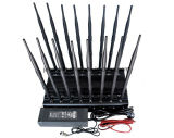 16 fréquences sélectionnables du brouilleur rf de téléphone cellulaire de longues Omni antennes de Channles