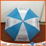 Commerce de gros logo personnalisé imperméable parapluie d'impression pour la promotion