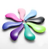 Горячая продажа моды дизайн рекламных пластмассовую щетку для волос с функцией массажа гребень