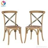 Personnaliser la croix de bois de chêne empilables X Retour chaise de salle à manger