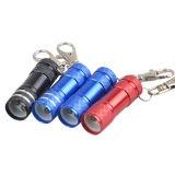 최신 판매 소형 다중 LED 플래쉬 등 토치 빛 병따개 Keychain