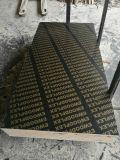 Los cementos concretos de la construcción utilizaron la madera contrachapada hecha frente película