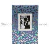 фотоальбом книги крышки ткани 4 '' *6 '' связанный для 300 фотоих