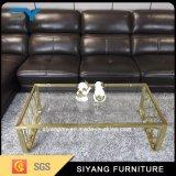 Tableau de console en verre de meubles de Chineses dans la salle de séjour