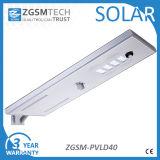 Утвержденном Ce 40W на солнечной энергии для использования вне помещений путь света