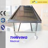 Muebles de acero inoxidable completo funeraria autopsia Tabla (THR-105)