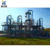De afval Gebruikte VacuümMachine van de Regeneratie van de Reiniging van de Olie van het Toestel van de Filtratie van de Olie van de Band van de Pyrolyse Hydraulische