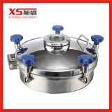 Dn200 sanitaire de la pression en acier inoxydable couvercle de trou d'homme avec voyant