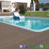 Foshan-zusammengesetzter hölzerner im Freiendekorationdecking-Fußboden mit wahlweise freigestellter Farbe